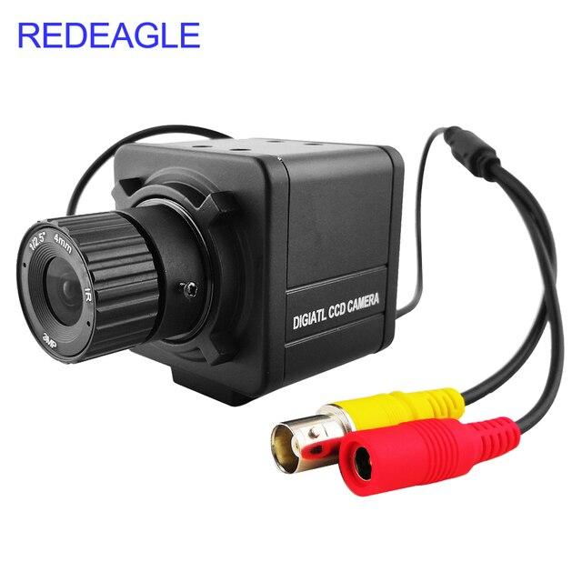 CVBS 700TVL Analog กล้องรักษาความปลอดภัยในร่มสีมินิกล้องเลนส์ 4MM