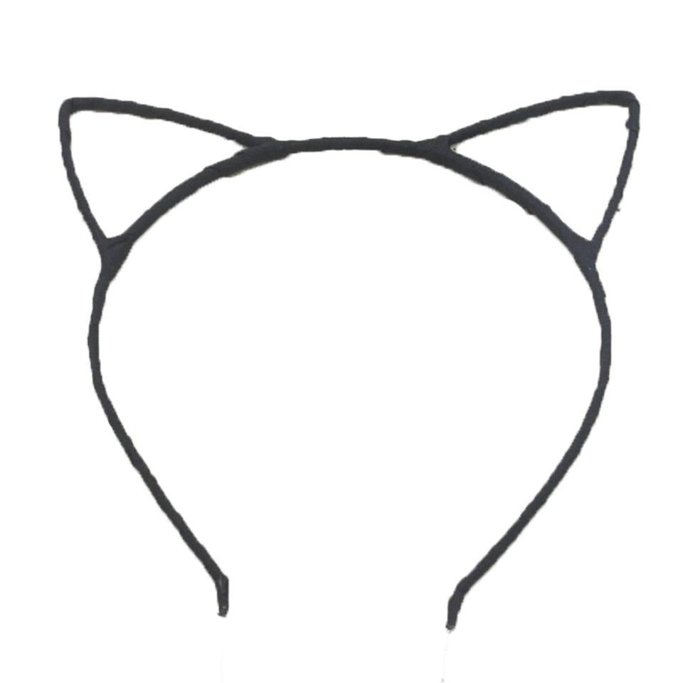 ᗛMujeres con estilo Niñas gato oído diadema cintas para el pelo ...