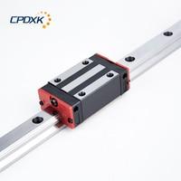 15mm linear rail linear guide rail 1300mm 1 pc + lm guide block HGH15CA 1pc linear guide rail and carriage assemblies