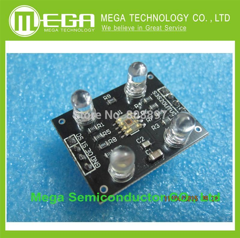 Wholesale 5pcs/lot Color sensor TCS230 TCS3200 Color Recognition Sensor Detector