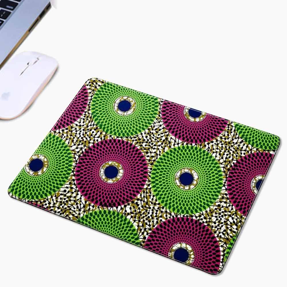 Shenbolen vente chaude élégant souris fou personnalisé africain impression tapis de souris 3 pièces/1 pack 30*25*0.3 cm peut être personnalisé