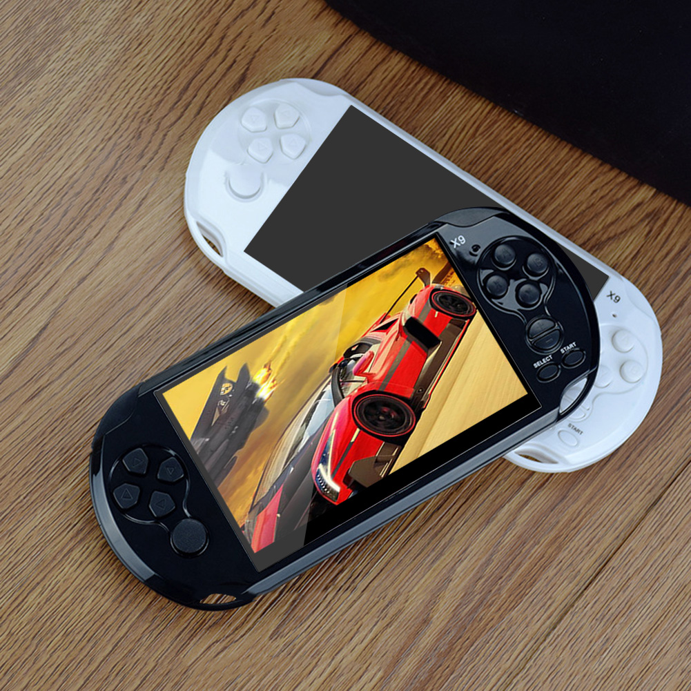 Built-in 10000 Classic Game 8GB 5.1Inch PMP Handheld Game Player MP3 MP4 MP5 Player Video FM Camera Portable Game Console