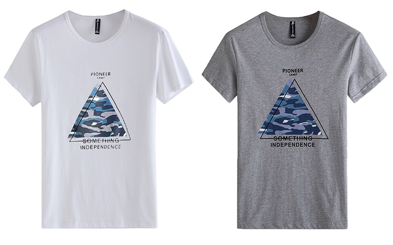 Pioneer Camp 2019 short sleeve t shirt men fashion brand design 100% cotton T-shirt male quality print tshirts o-neck 405038