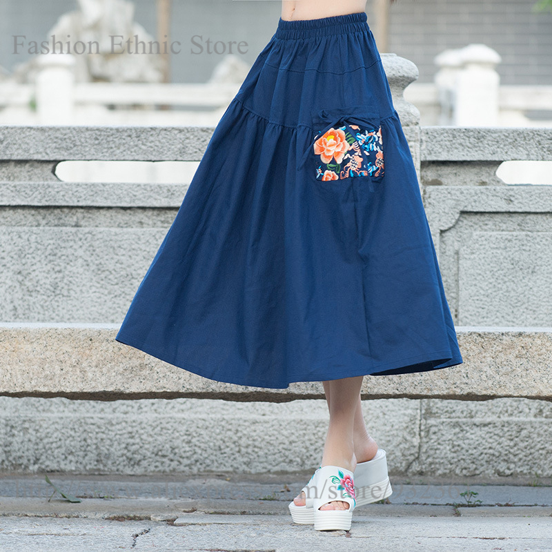 Compare Prices on Long Pleated Skirt Pockets- Online Shopping/Buy ...