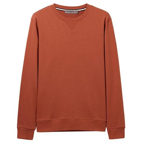 Giordano Men Sweatshirt Solid Pullover Sweatshirt Men Long Sleeve Fashion Terry Mens Clothes Sudadera Hombre Moleton Masculino 13