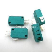 5 шт./лот нормально открытый Закрытый Концевой выключатель KW7 0 15A 16A 125V 16(4)A 250V 1E4 T125 микропереключатель