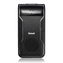 Multipoint Wireless Bluetooth Car Kit Manos Libres de Coche Cargador de Coche Receptor Altavoz Bluetooth Altavoz Parasol Viseras