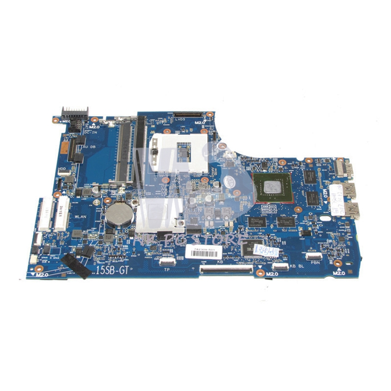 741653-501 741653-001 Main Board For HP Envy 15-J105TX 15-J Laptop Motherboard HM86 DDR3L GT750M 2GB Video card 720577 001 720577 501 main board for hp envy touchsmart 15 15 j laptop motherboard socket fs1 ddr3