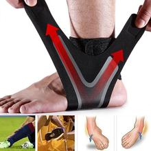 Ankle Support Adjustable Breathable Ankle Brace Support for Sports Protection Sprains Injury Heel Wr