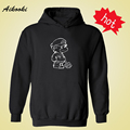 2016 New Classic Super Mario Black/Gray Mens Hoodies and Sweatshirts with Fashion Casual Sweatshirt Men Brand Famous Streetwear