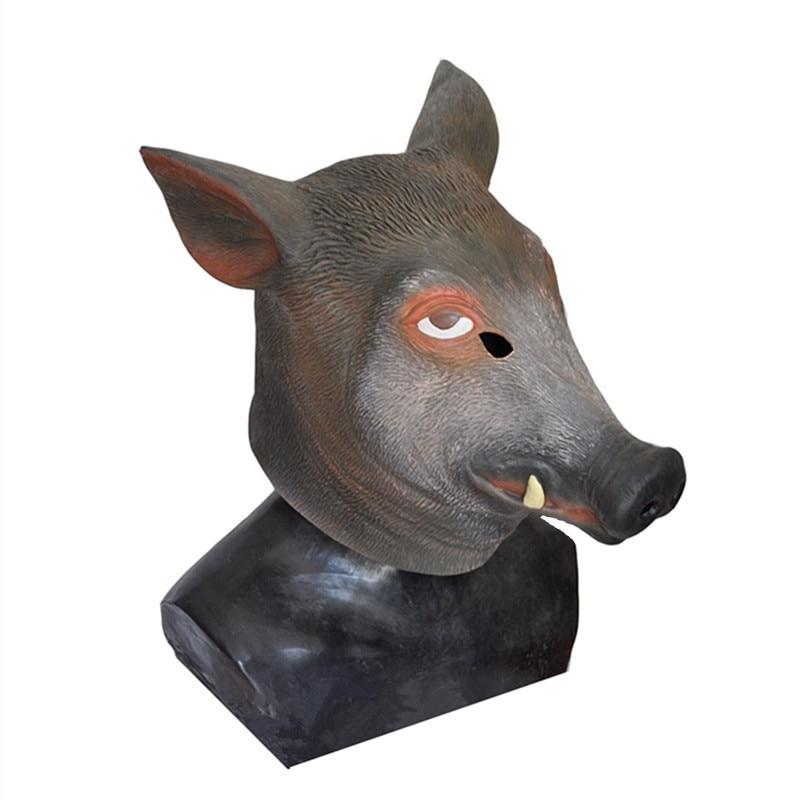 Wild boar mask 1-2