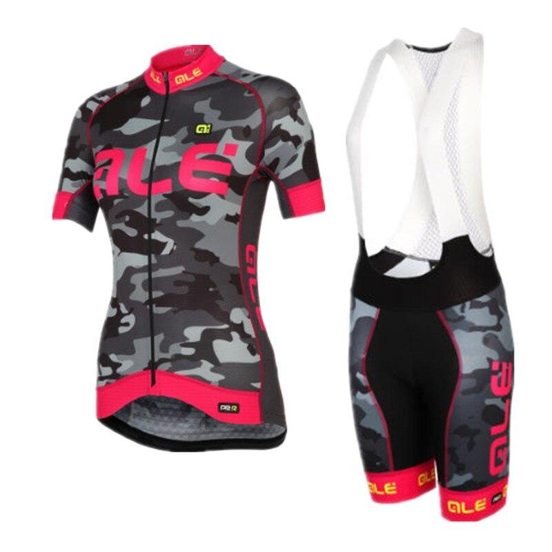 Prix pour 2017 Pro femmes maillots de cyclisme vêtements de vélo de route usure Vélo Ropa Ciclismo Maillot Vélo vêtements de Montagne Vtt Vélo ensemble