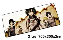 attack on titan padmouse 700x300mm pad to mouse notbook computer mousepad locrkand gaming mouse pad gamer to laptop mouse mat