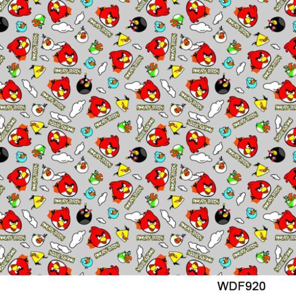C022 Materiais 50 quadrado Largura 1 m padrão dos desenhos animados  Impressão hidrográficas filmes de transferência bfb190e0100