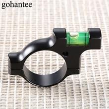 купить gohantee Tactical Military Water Bubble Level Ring for 30mm Tube Scope Rifles Balance Holder Mount Rail Hunting Gun Accessories дешево