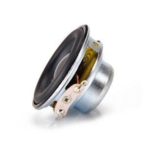 Image 5 - SOTAMIA 2 adet 40MM Mini taşınabilir ses tam aralıklı hoparlörler 16 çekirdekli 4 Ohm 5 W kauçuk yan DIY ses bluetooth hoparlör ev sineması