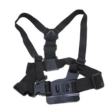 GoPro Accessories Harness Adjustable Elastic Shoulder Chest Strap for GoPro Hero 4 3 3+ 2 SJ4000 SJ5000 Xiaomi yi Sport Camera