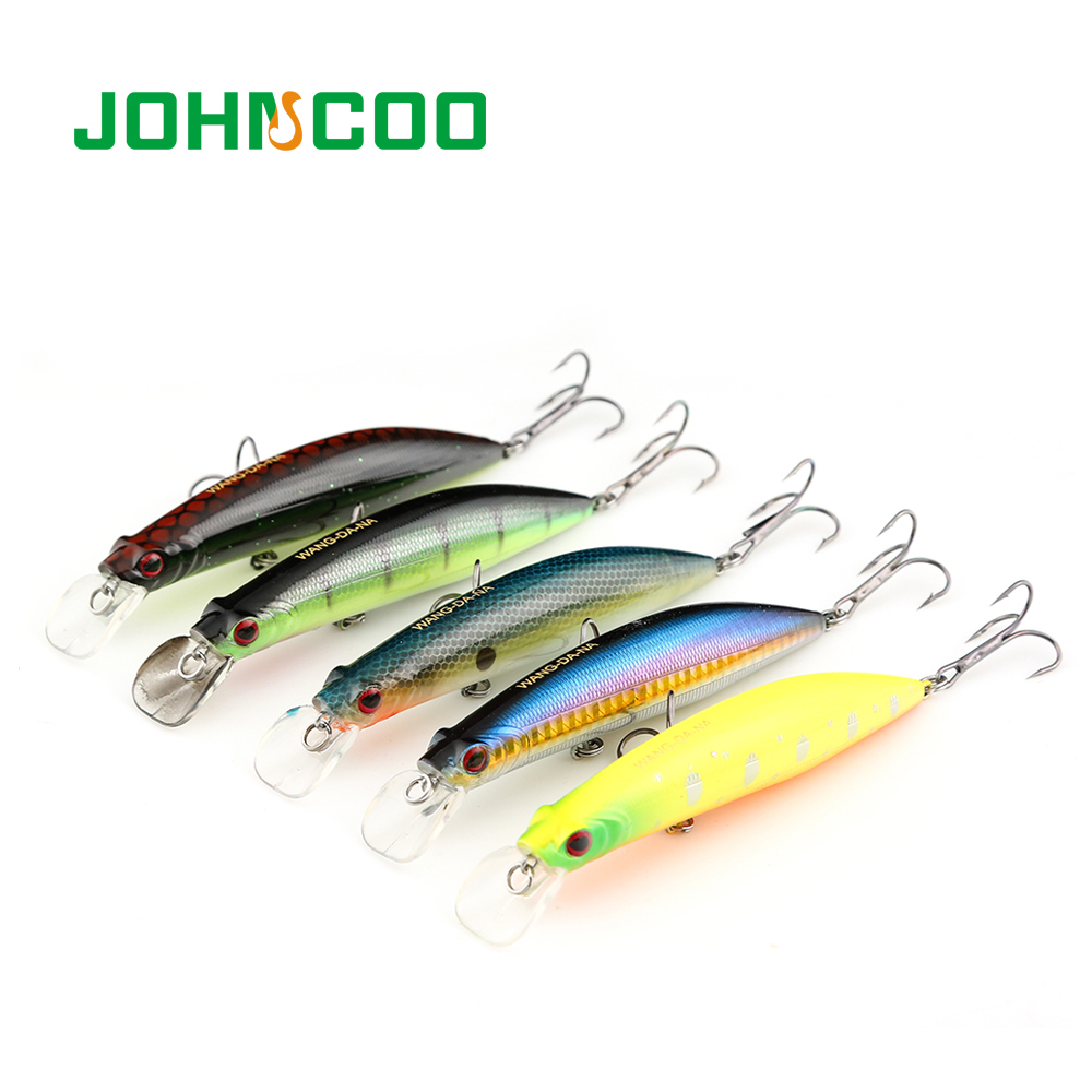 Wobbler Fishing Lures Hard Bait 110mm 20.3g Minnow Deep Dive 8m Professional Sinking Minnow steel ball in body