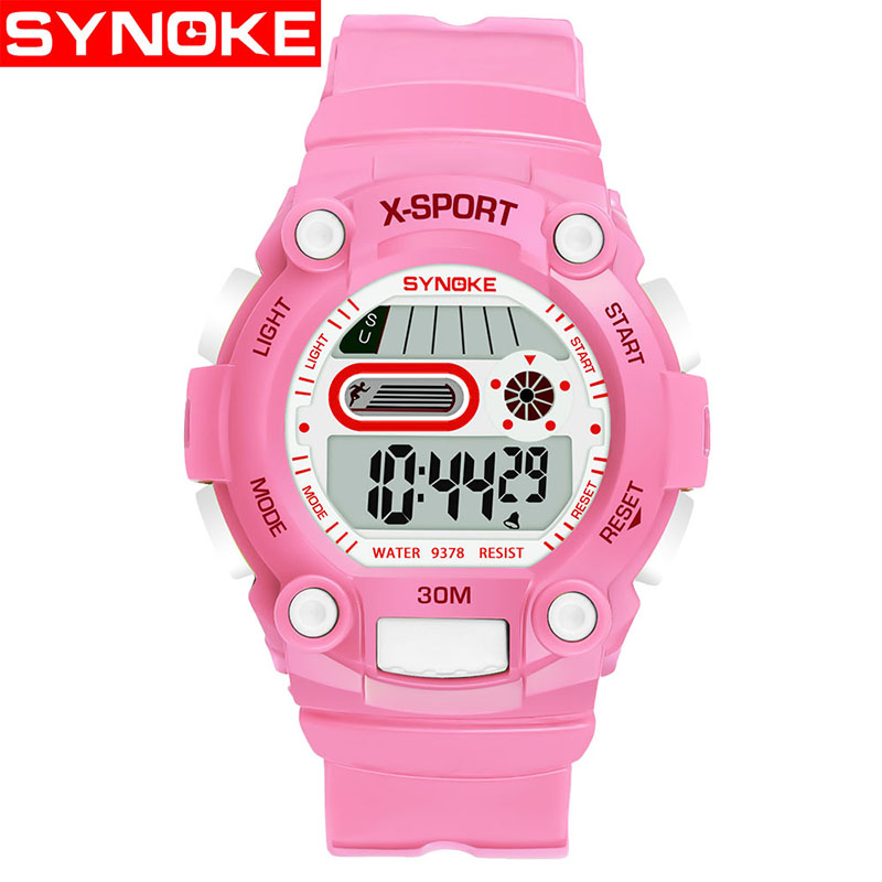 Children Boys Sports Watch Student Plastic Strap Waterproof LED Digital Date Quartz Wristwatches For Girls Boys Gift цена 2017