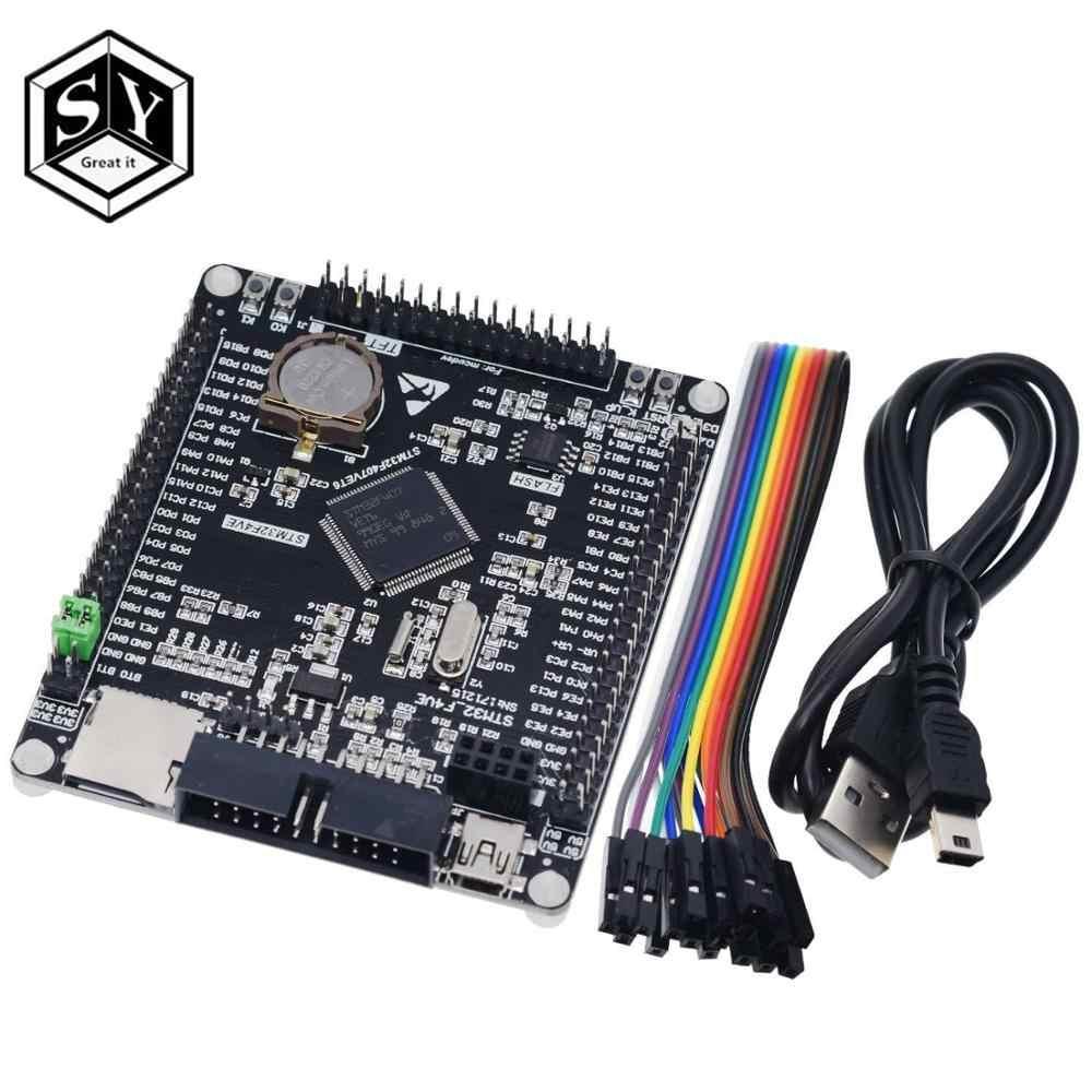 1 Buah Besar Ini STM32F407VET6 Papan Pengembangan Cortex-M4 STM32 Sistem Minimum Belajar Papan Lengan Inti Papan