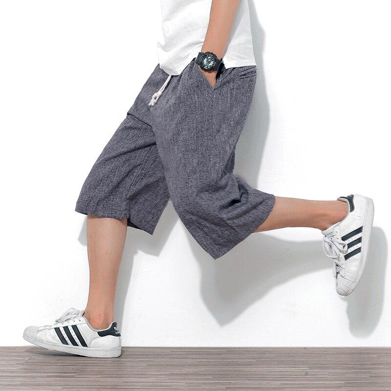 veau-longueur pantalon pour hommes pantalon large et ample - Vêtements pour hommes - Photo 4