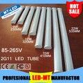 Ultra bright não estroboscópica 2G11 Alta qualidade 2835 chips 85-265 V 9 W 12 W 15 W 22 W corrente constante levou tubo