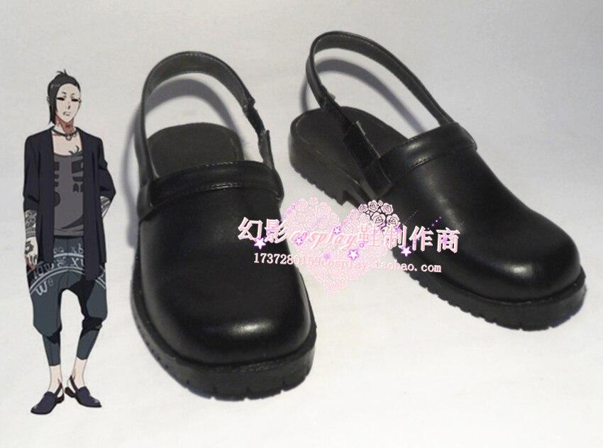 Tokyo Ghoul Uta Black Halloween Cosplay Shoes H016