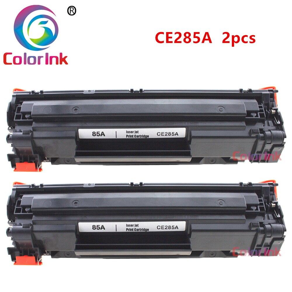 ColorInk 2 pack CB285A 285A 85A cartouche de toner pour HP LaserJet Pro P1102 M1130 M1132 M1210 M1212nf M1214nfh M1217nfw imprimanteColorInk 2 pack CB285A 285A 85A cartouche de toner pour HP LaserJet Pro P1102 M1130 M1132 M1210 M1212nf M1214nfh M1217nfw imprimante
