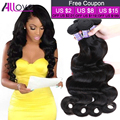 11.11 Top Sale Brazilian Virgin Hair Body Wave 3 Bundles 7A Unprocessed Virgin Human Hair Weave Brazilian Body Wave Virgin Hair