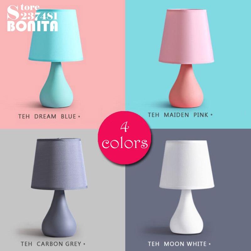 Small size modern minimalist Table light Macaron night feeding small night light LED small table lamp small desk lamp