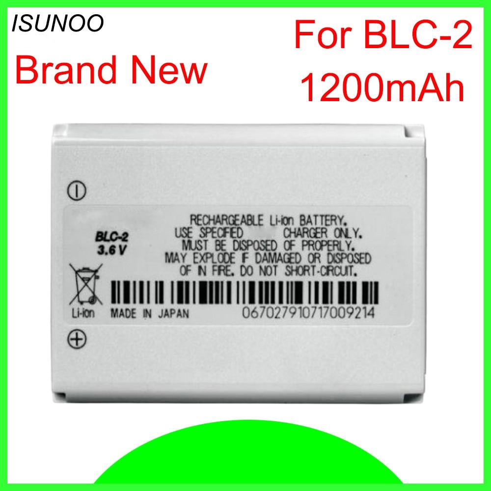 ISUNOO BLC-2 Battery For Nokia 3310 3330 3410 3510 5510 3530 3335 3686 3685 3589 3315 3350 3510 6650 6800 3550 BLC2 1200mAh