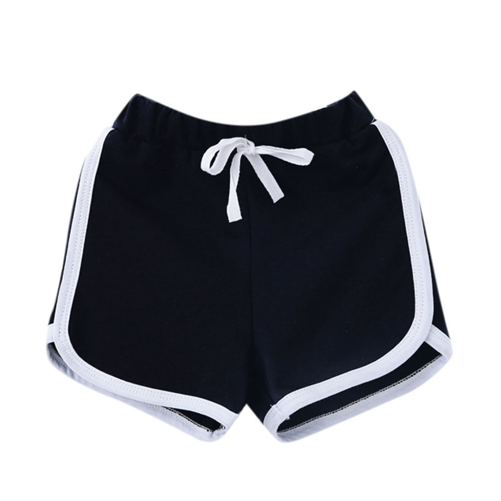 Huang Neeky W#5 Fashion Daily Summer Children Boy Girl Candy Colors Casual   Shorts   Elastic Waist Pants Clothes