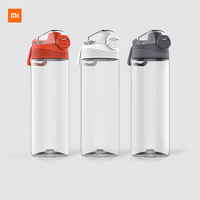Xiaomi Tritan Sports Cup 480ML 620ML Safety lock Non-toxic and tasteless Resistance to falling High temperature Single-hand Open Smart Remote Control