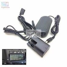 كاميرا AC الطاقة طقم محوّل مع التوازن عرض لكانون EOS R R5 R6 5D مارك الثالث الرابع 5DSR 90D 80D 70D كما ACK E6 LP E6 E6N DR E6