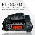 Для автомобиля Yaesu FT-857D Двухдиапазонный портативный любительский радиоприемник коротковолновый ультракоротковолновый мини полнорежимный...
