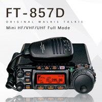 Для Yaesu FT 857D автомобиль Двухдиапазонный портативный любительского радио коротковолновое ультракоротких мини Полный режим автомобиля прие