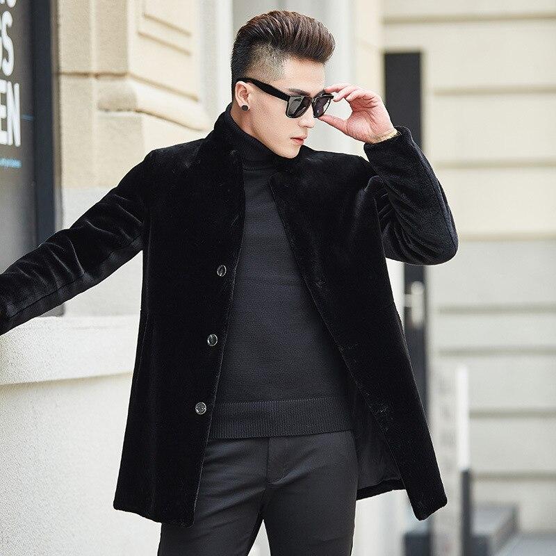 Nouvelle Hommes Épais Taille L Xl Mode Style Mandarin Qualité M De Hiver vent Arrivée Casual Black Automne Coupe Col Haute Manteau 2xl3xl Chaleur mN0ywvnO8