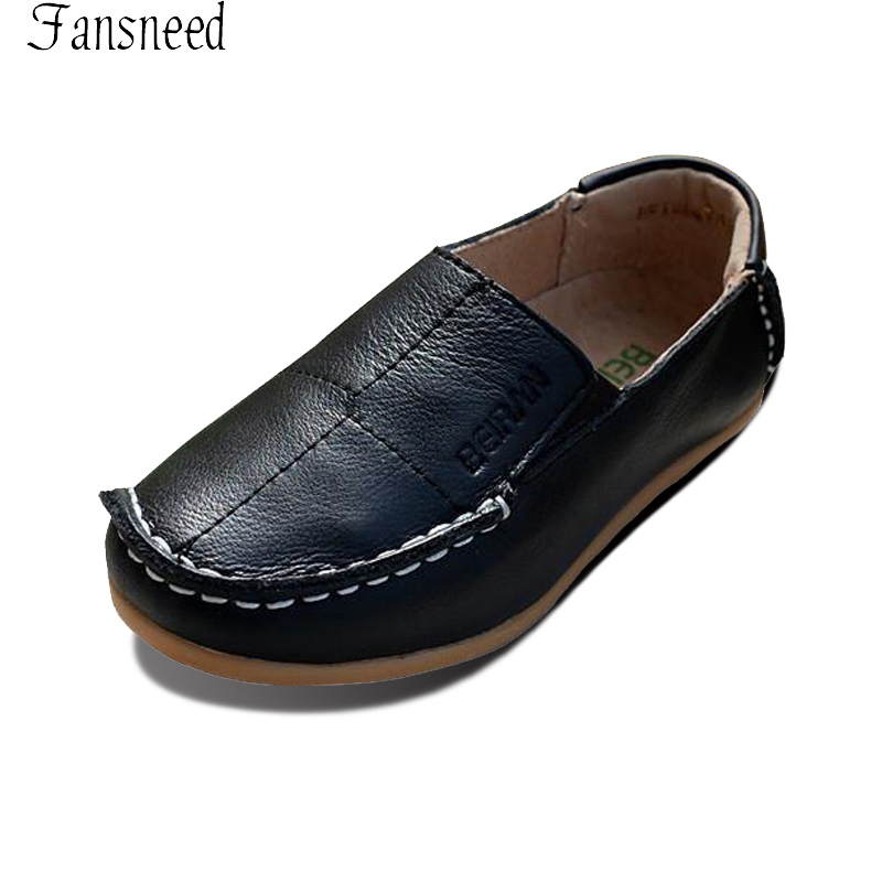 Genuine leather casual shoes soft bottom shoes Doug white British spring tide models