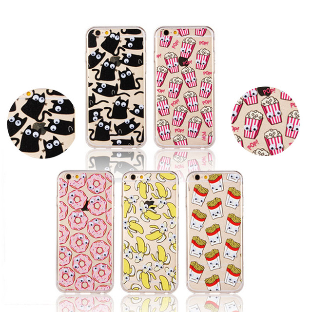coque iphone 7 pop corn