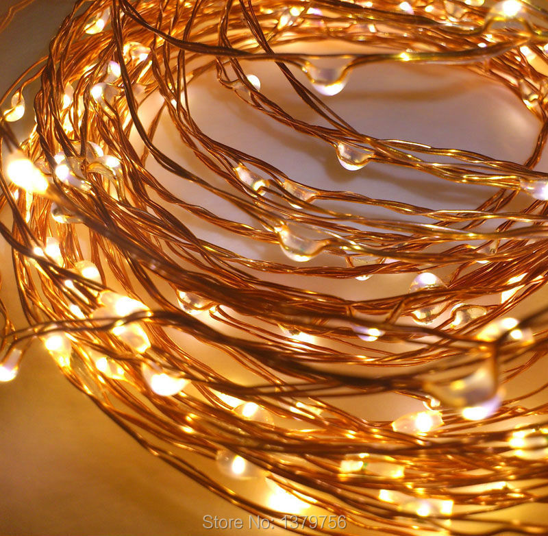 20ft 120leds warm white micro patio string light waterproof led christmas string light tiny led string lights with adaptor in led string from lights
