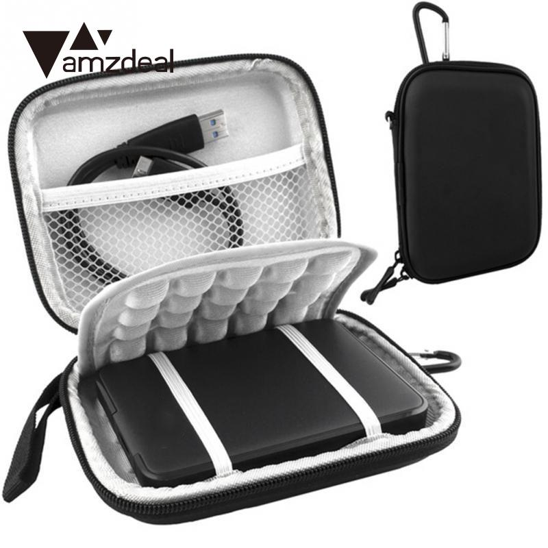 amzdeal 2.5 Inch USB 3.0 External Hard Drive Shockproof Pouch Bag Carry Case Box Cover edic mini tiny16 а78
