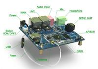 Linkardwell AR9331 OpenWRT Módulo Wifi Módulo Placa de Desenvolvimento Open Source