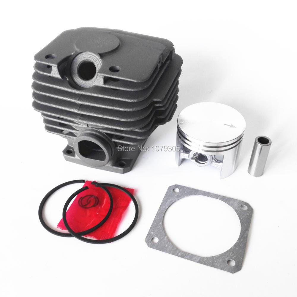 52mm Cylinder Piston Kit replacement for Stihl MS380 Chainsaw 52mm cylinder piston kit fuel oil line filter for stihl 046 ms460 chainsaw