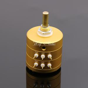 Image 2 - New 24 Steps Dual Channel Serial Type Volume Potentiometer Vishay Dale Resistors For Amplifier