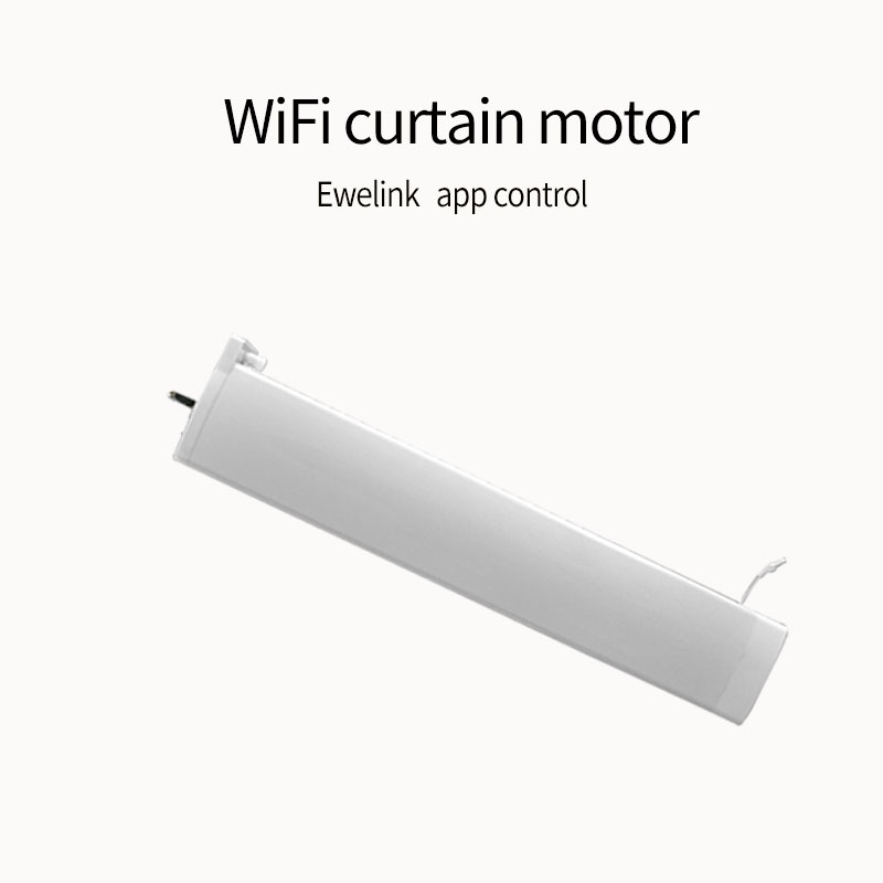 WIFI Electric Curtain Motor, Ewelink app /Remote Control vioce control via alexa echo and Google home for smart home