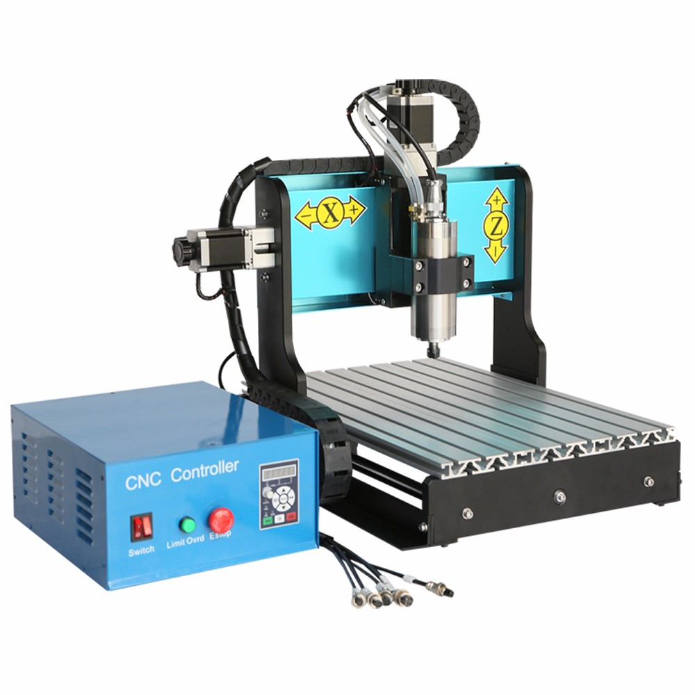 Computer Controlled Usb Port Mini Cnc 3040 800w 3 Axis Milling Machine Desktop Cnc Router Table For Wood Carving