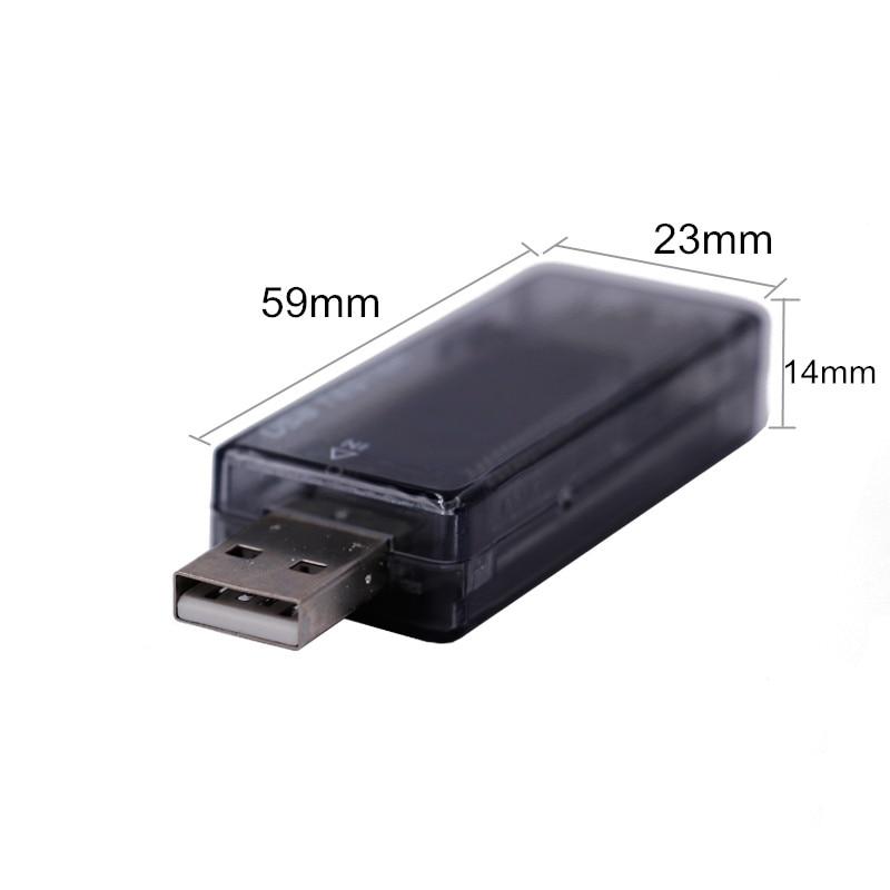 LCD USB detektor voltmetr ampérmetr výkon tester měřič napětí - Měřicí přístroje - Fotografie 2