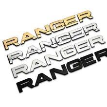 3 см Высота отдельные буквы Chrome из металла и установка автомобиля укладки эмблемы Авто снаружи 3D Стикеры капюшон транк для диапазон rover