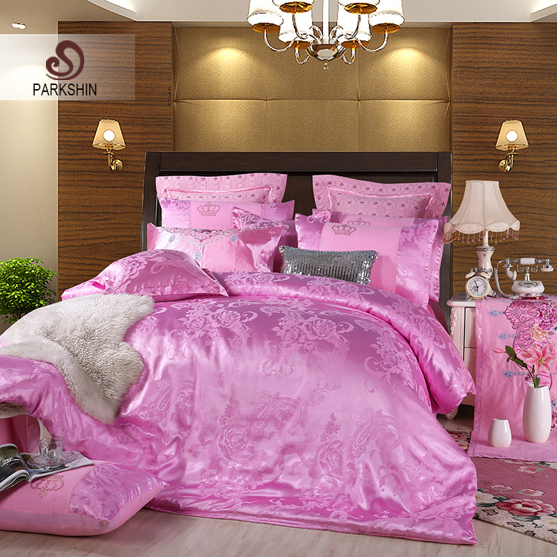 ParkShin Bedspread Double Queen King Bed Linen Euro Cotton Pillowcases Bedding Set Bed Sheet Duvet Cover Set Tencel Adult BedParkShin Bedspread Double Queen King Bed Linen Euro Cotton Pillowcases Bedding Set Bed Sheet Duvet Cover Set Tencel Adult Bed