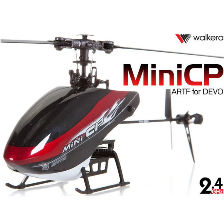 Original WALKERA Mini CP 6CH Flybarless 6-Axis-Gyro Telemetry Helicopter Body Only NO TX